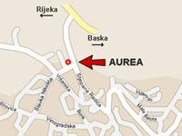 Aurea International Office Map