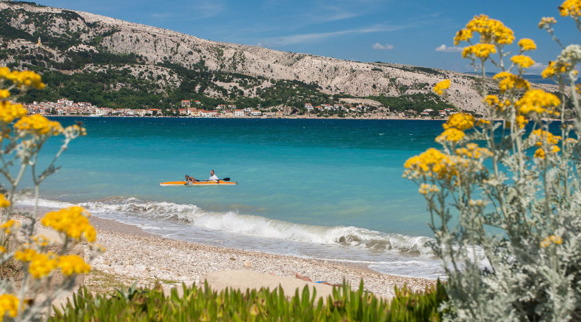 Vela Plaza Beach, Baska, Krk Island