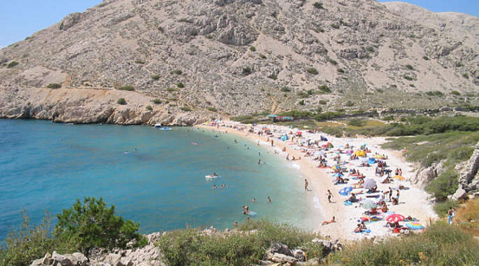 Island Of Krk Beaches Photos And Location Aurea