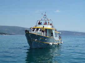 Ship Lenica - Panoramic cruise Krk Croatia