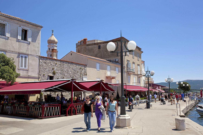 Krk Town Krk City Island Of Krk Croatia Aurea